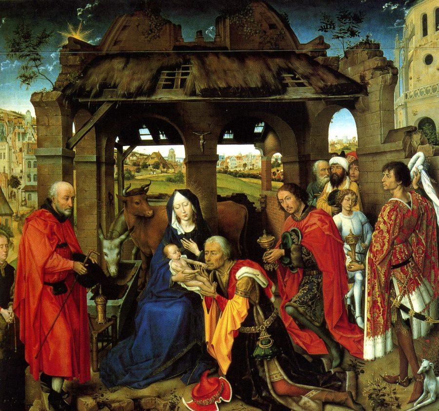 Van der Weyden, Columba Triptych.