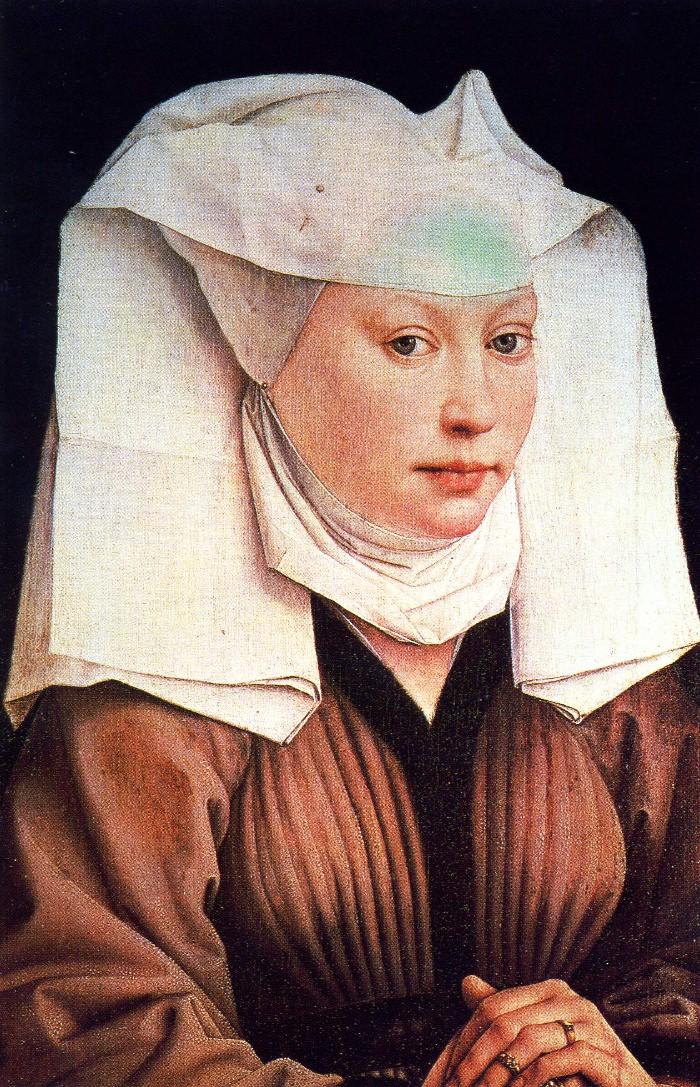 Van der Weyden's Portrait of a Young Woman.