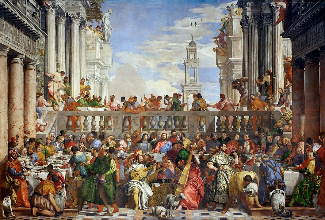 The Marriage at Cana by Paolo Veronese.