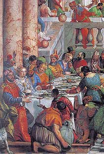 Marriage at Cana (detail) Veronese