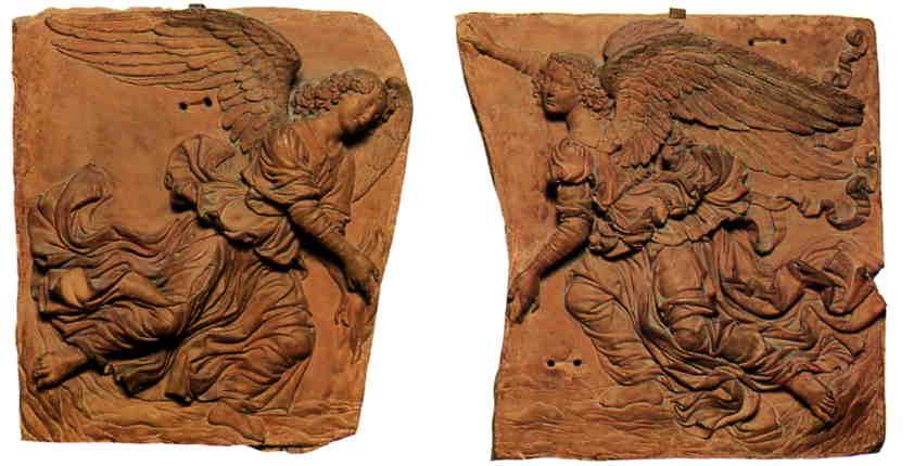 Andrea del Verrocchio, Terracotta Angels.