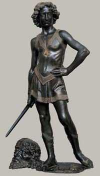 David by Verrocchio