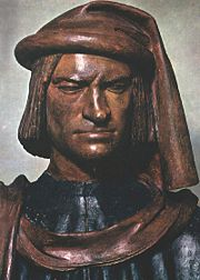 Lorenzo Medici, the magnificent by Verrocchio