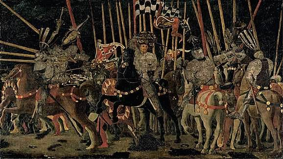 Uccello, The Battle of San Romano (Louvre version)