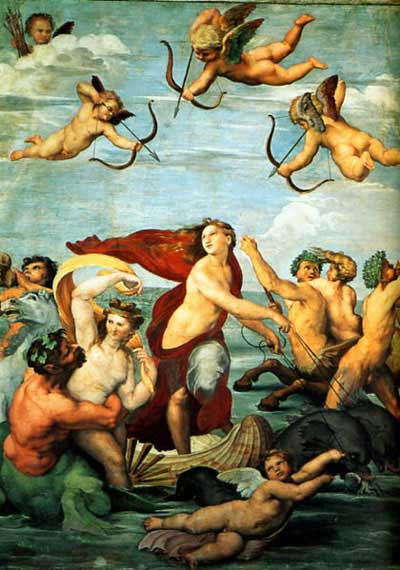 Raphael's Triumph of Galatea.