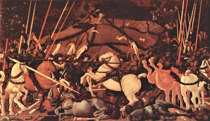 Uccello, The Battle of San Romano (Uffizi version)