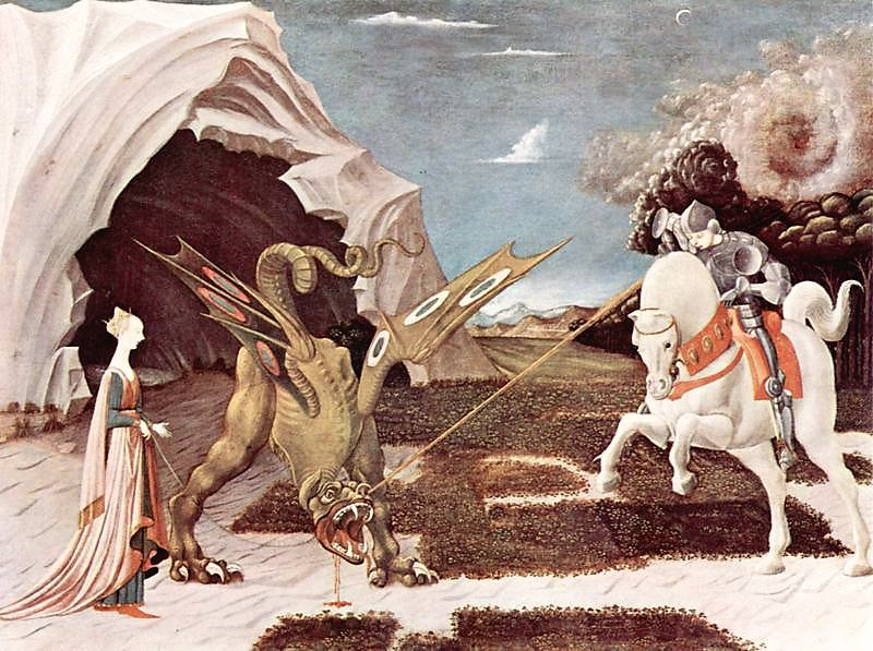 Uccello, St George and the Dragon.