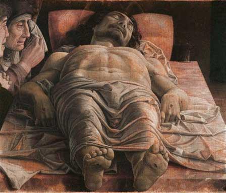 Cristo Scorto by Andrea Mantegna