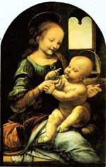 Benois Madonna by Leonardo da Vinci.