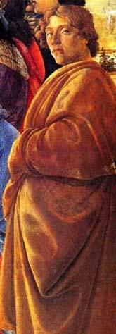 Sandro Botticelli, Self Portrait