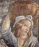 Scenes in the life of Moses (detail) Sandro Botticelli