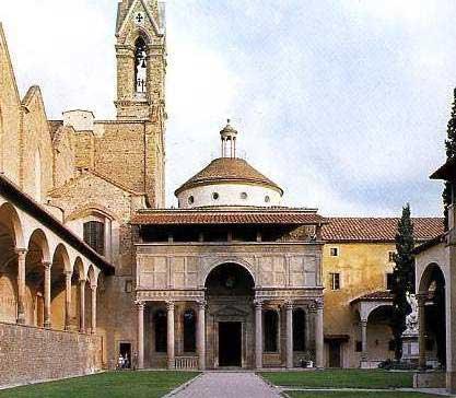 Pazzi Chapel by Brunelleschi