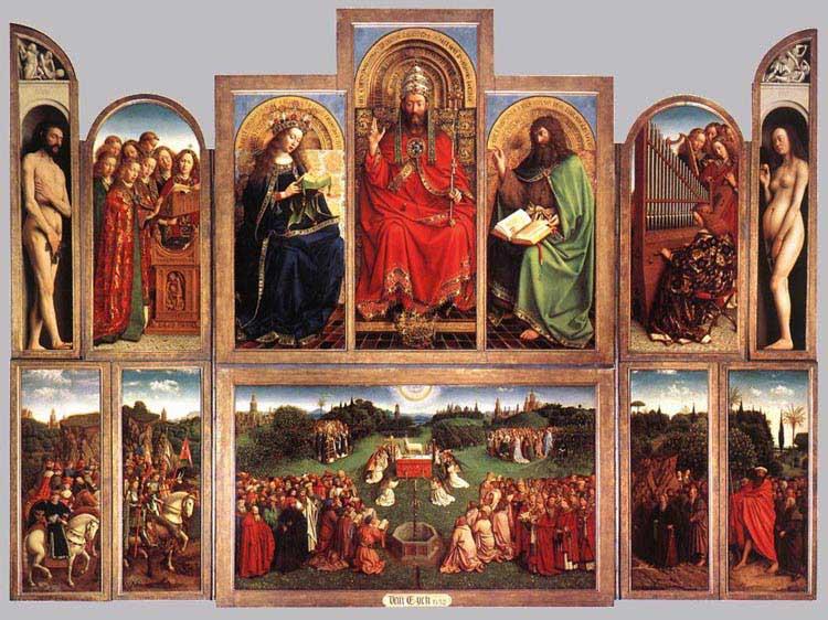 Jan and Herbert van Eyck, The Ghent Altarpiece.