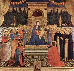 San Marco Altarpiece, Fra Angelico