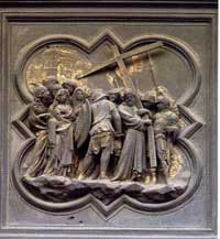 Panel from thew Baptistery of Florence (north door)