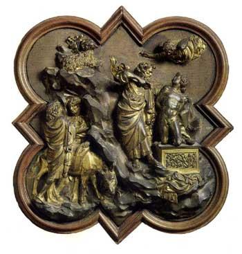 Sacrifice of Abraham by Ghiberti