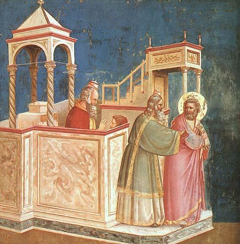 The Expulsion of Joachim by Giotto
