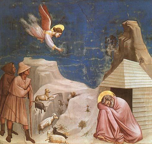 Joachim's Dream by Giotto