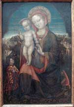 Virgin of Humility by Jacopo Bellini