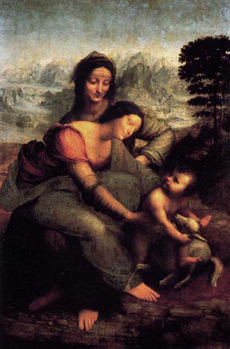 Leonardo's Virgin and Child