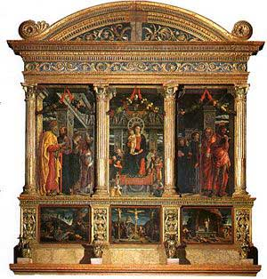 The San Zeno Altarpiece by Andrea Mantegna