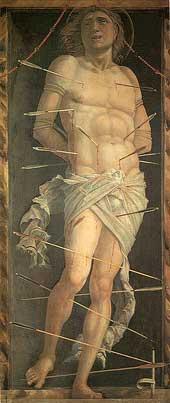 St Sebastian (Venice) Andrea Mantegna