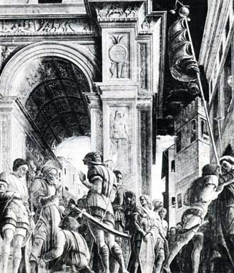 St James led to his Execution, by Andrea Mantegna
