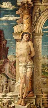 St Sebastian (Vienna) Andrea Mantegna