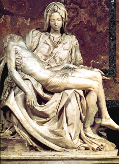 Michelangelo's Pieta Vatican Statue