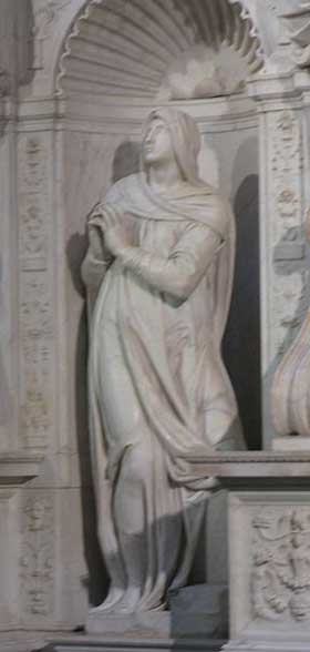 Michelangelo's statue of Rachel
