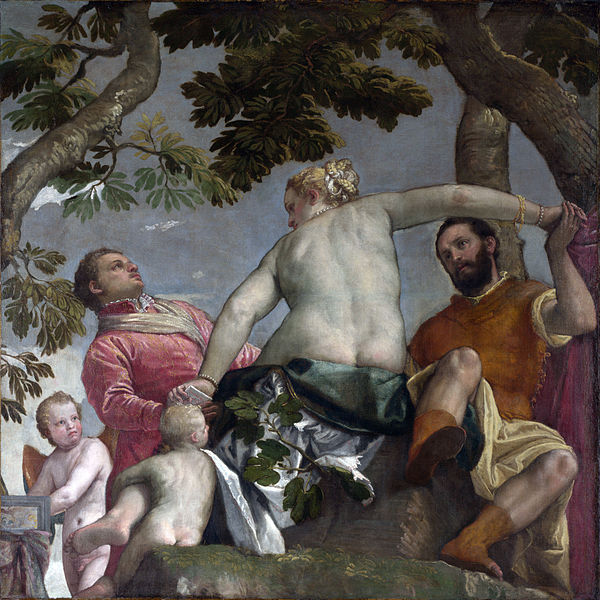 Allegory of Love 1 Infidelity, Veronese