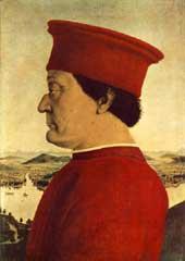Frederico da Montefeltro by Piero della Francesca