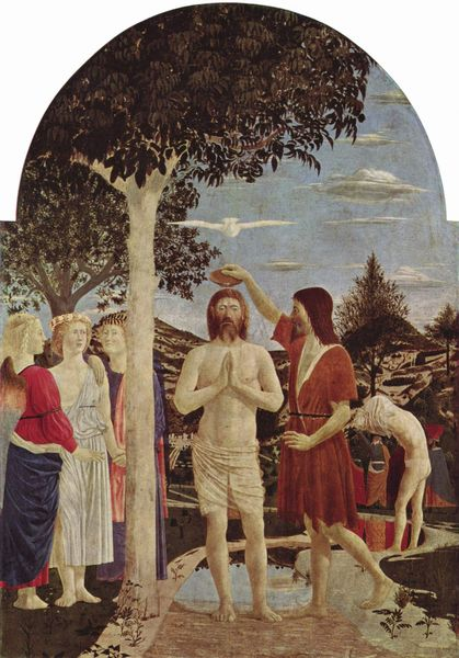 Baptism of Christ by Piero della Francesca