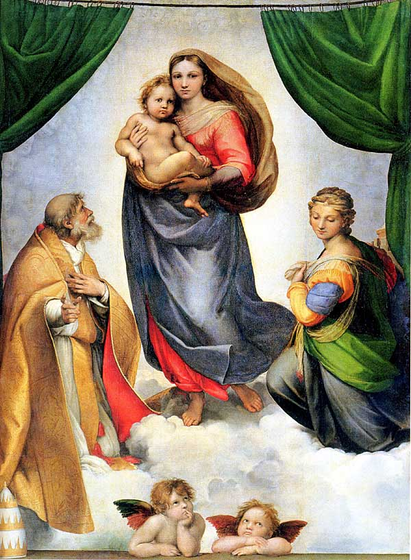 Image result for Sistine Madonna
