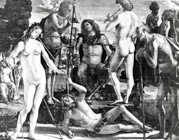The Court of Pan by Luca Signorelli