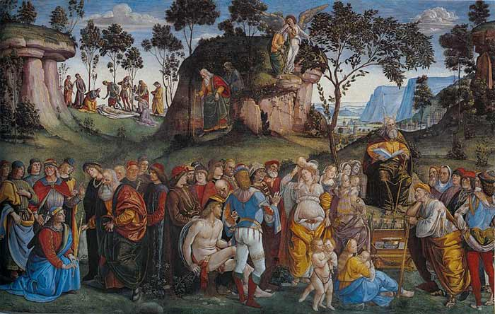 Testament and Death of Moses by Luca Signorelli