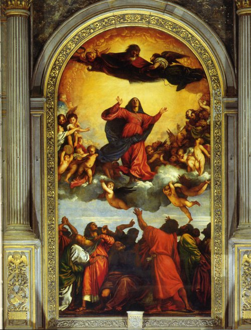 The Assumption by Titian