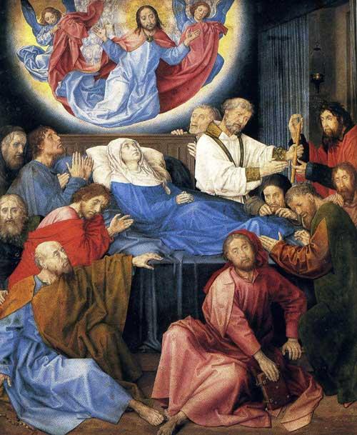 Hugo van der Goes, The Death of the Virgin.