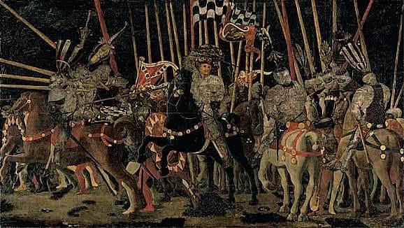 Uccello, The Battle of San Romano (Louvre version)