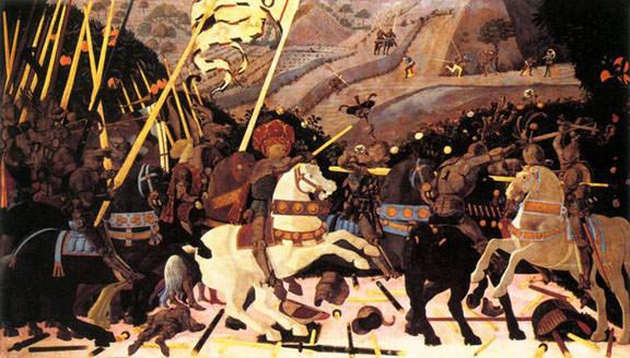 Uccello, The Battle of San Romano (London version)